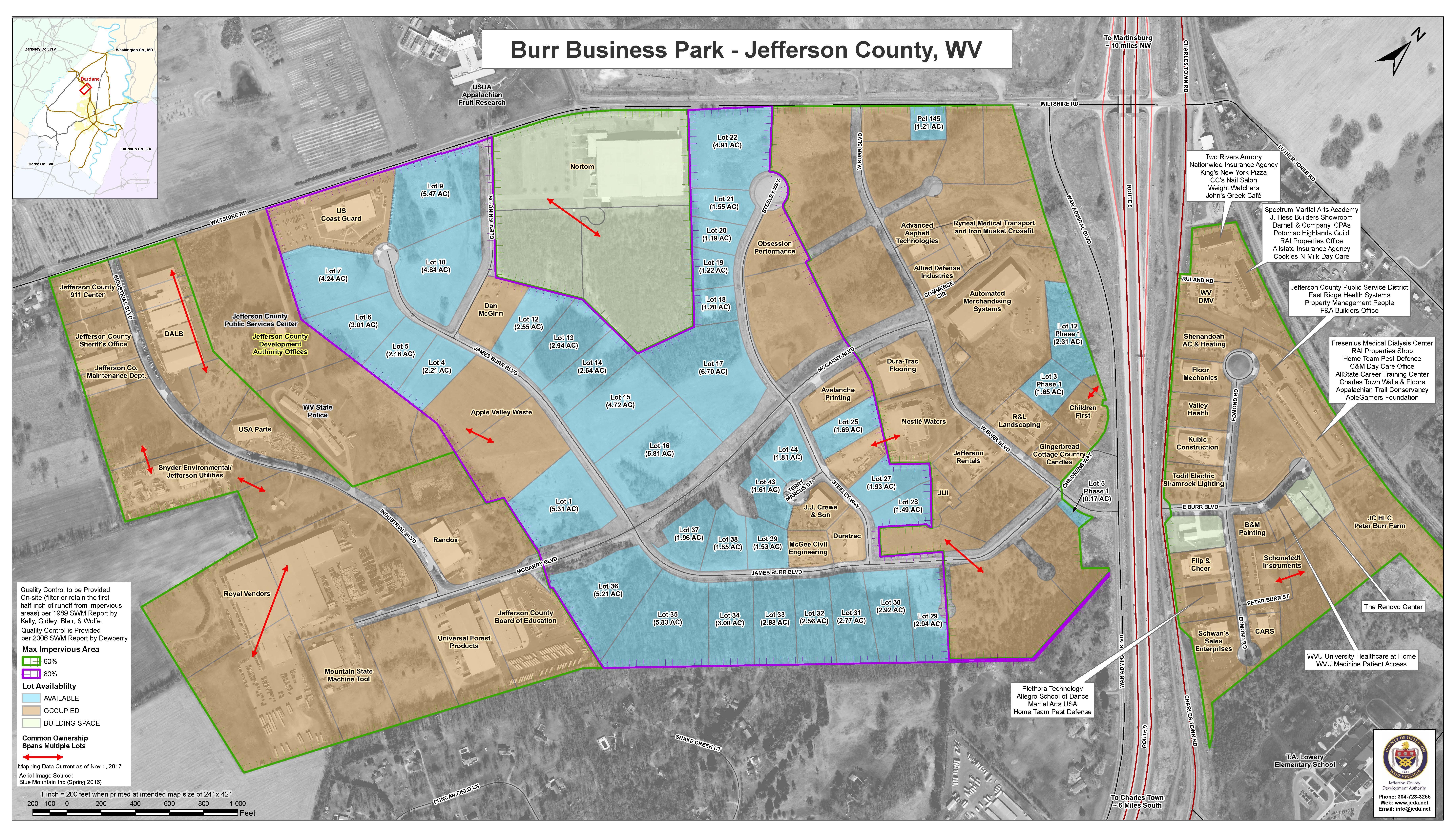 Featured blog image - JCDA Seeks Real Estate Broker Services for Burr Business Park