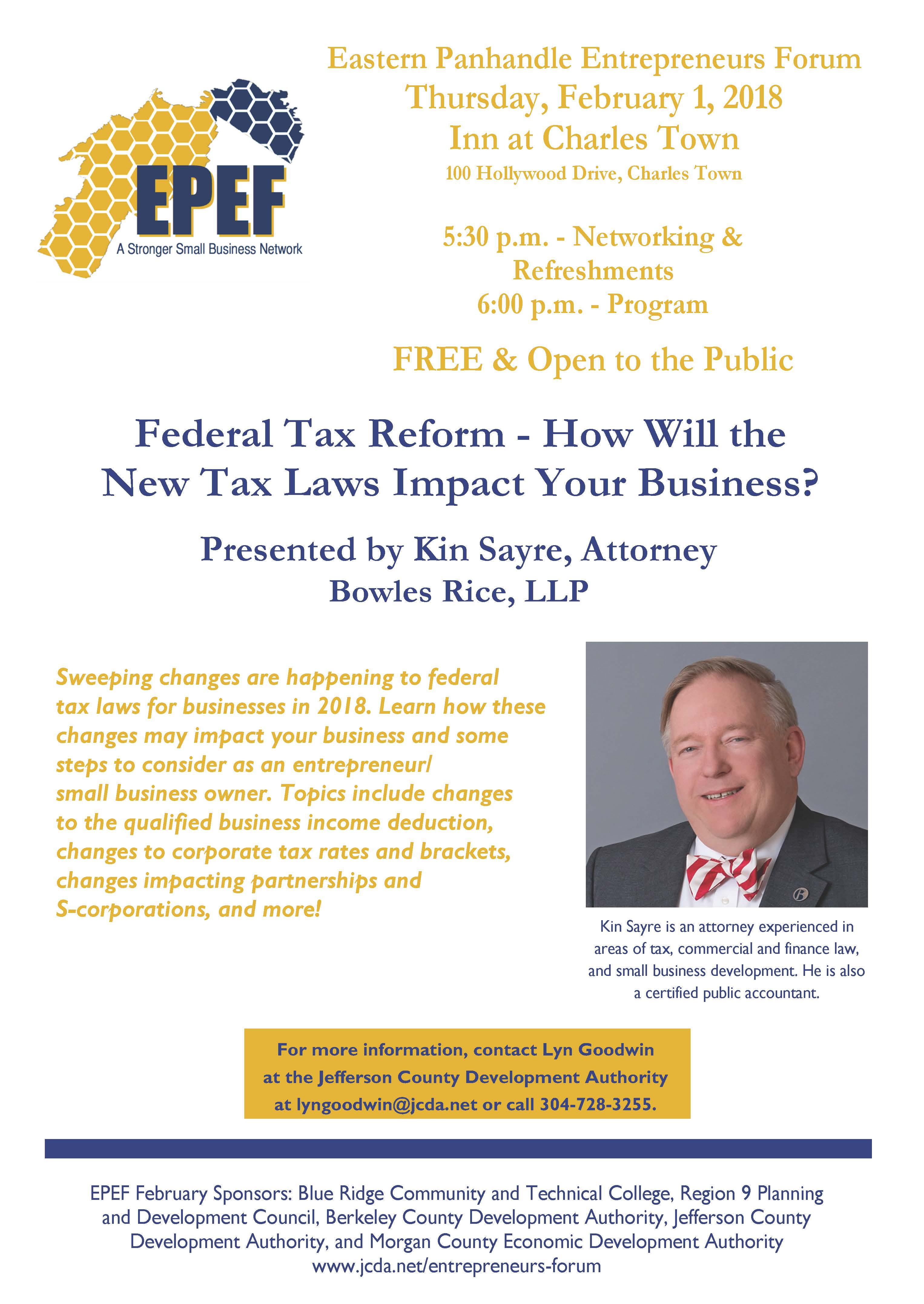 Featured blog image - How Will the New Tax Laws Impact Your Business?
